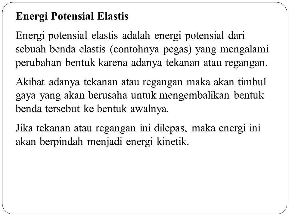 Energi Potensial Elastis