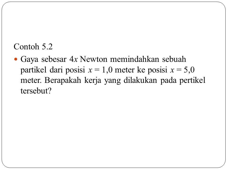 Contoh 5.2