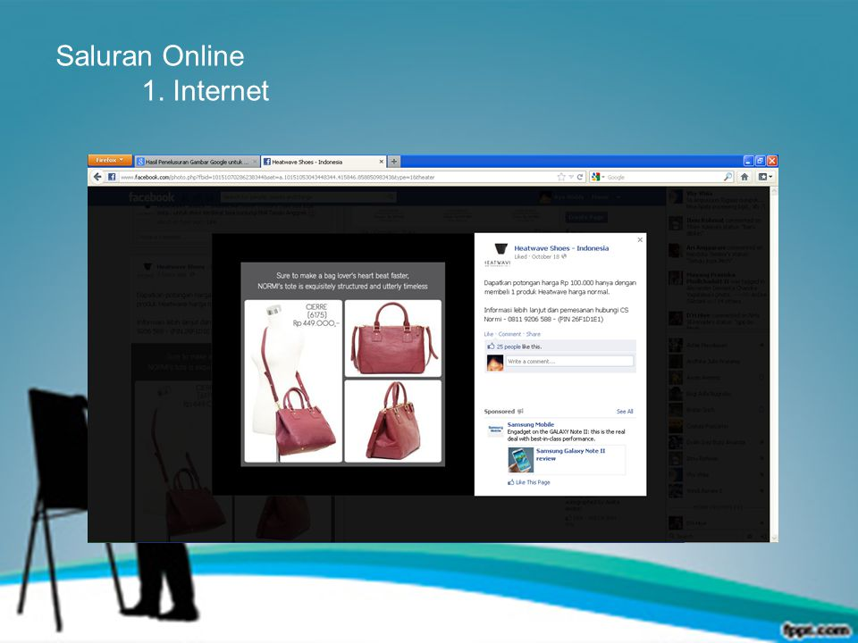 Saluran Online 1. Internet