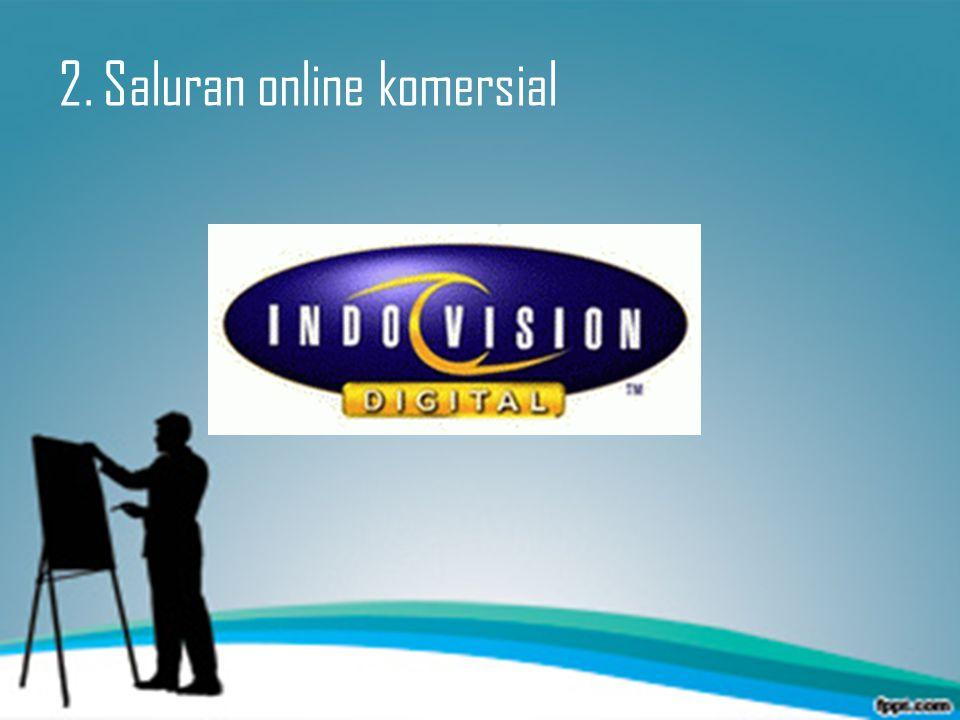 2. Saluran online komersial