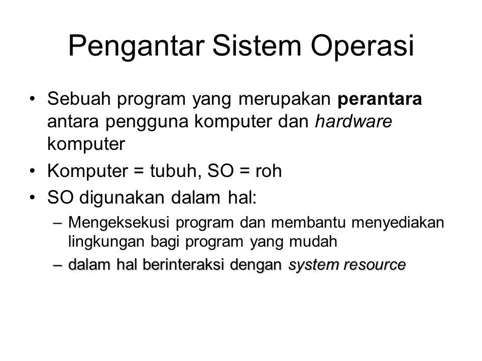 Pengantar Sistem Operasi