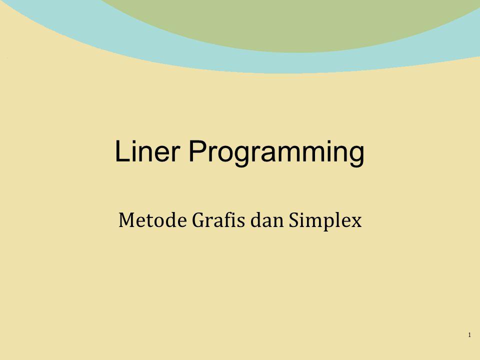 Metode Grafis dan Simplex