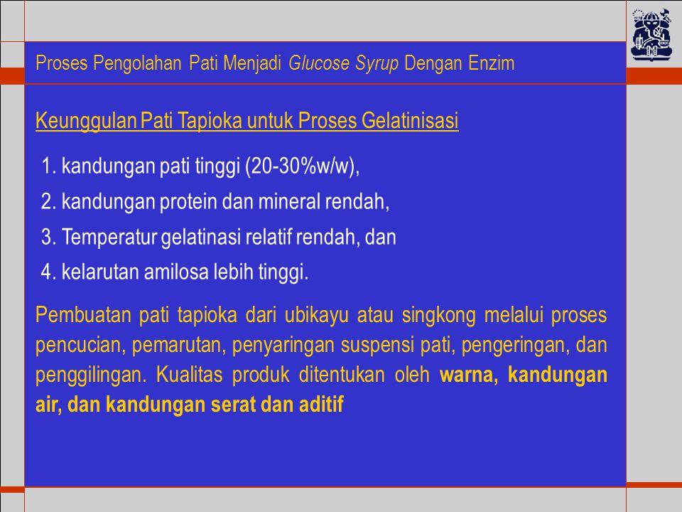 Keunggulan Pati Tapioka untuk Proses Gelatinisasi