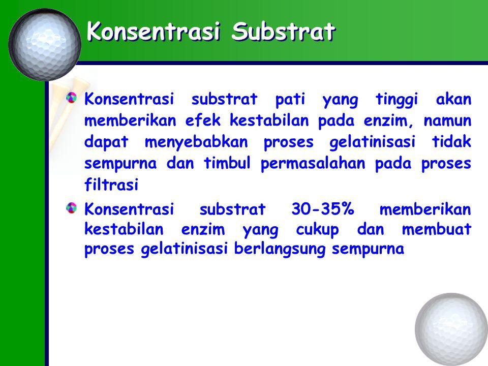 Konsentrasi Substrat