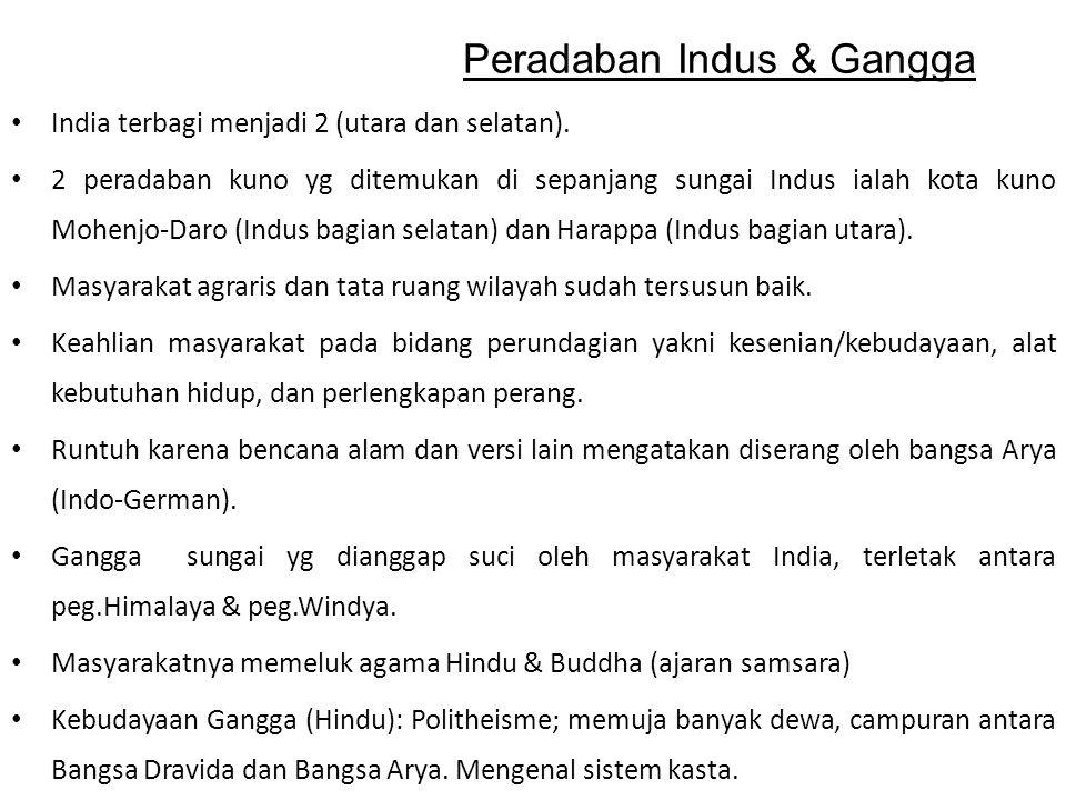 Peradaban Indus & Gangga