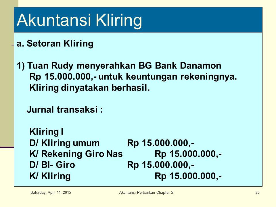 Akuntansi Perbankan Chapter 5