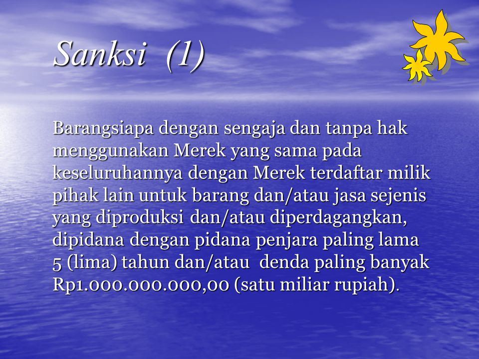 Sanksi (1)
