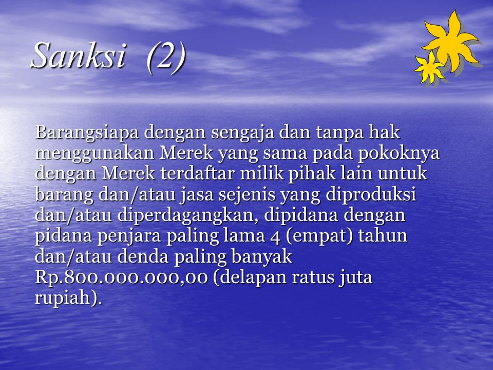 Sanksi (2)