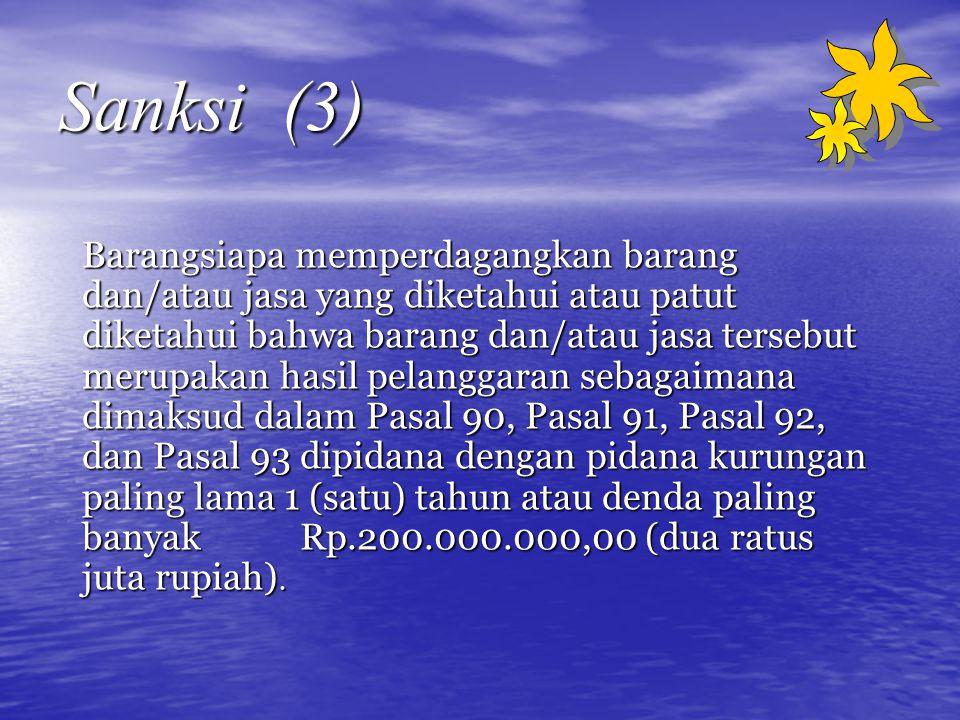 Sanksi (3)