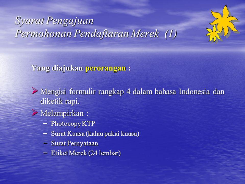 Syarat Pengajuan Permohonan Pendaftaran Merek (1)