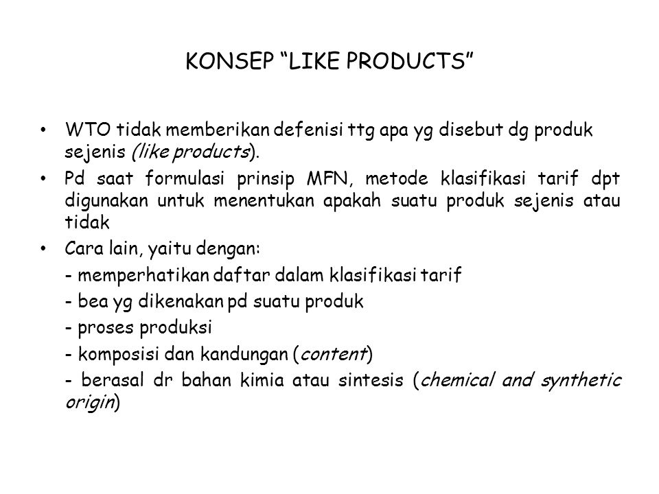 KONSEP LIKE PRODUCTS