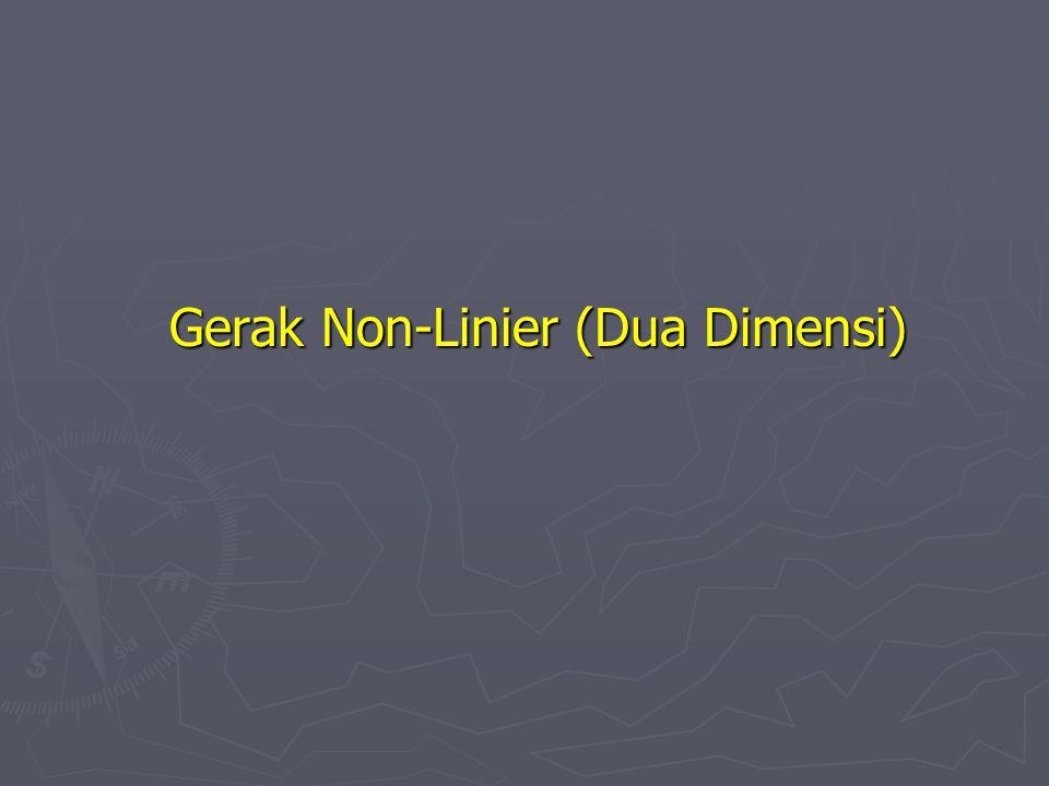 Gerak Non-Linier (Dua Dimensi)