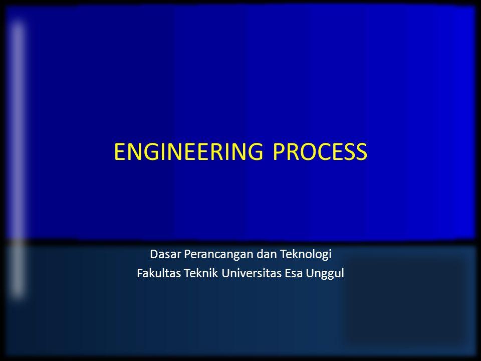 Dasar Perancangan dan Teknologi Fakultas Teknik Universitas Esa Unggul