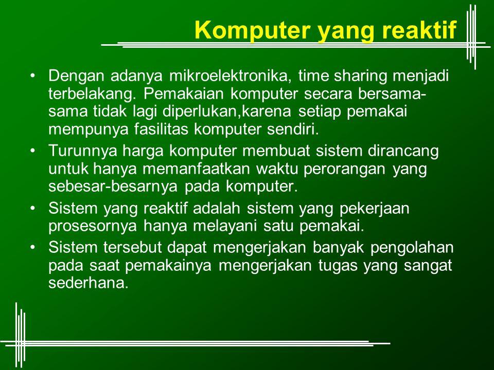 Komputer yang reaktif