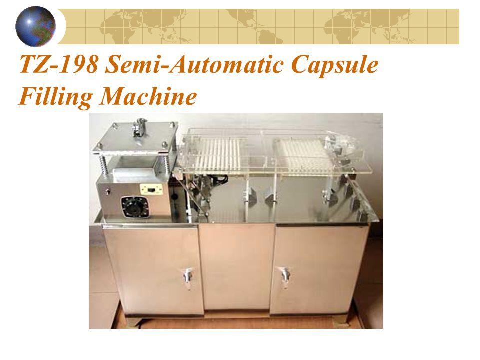 TZ-198 Semi-Automatic Capsule Filling Machine