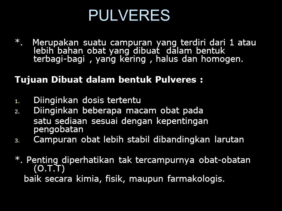 PULVERES