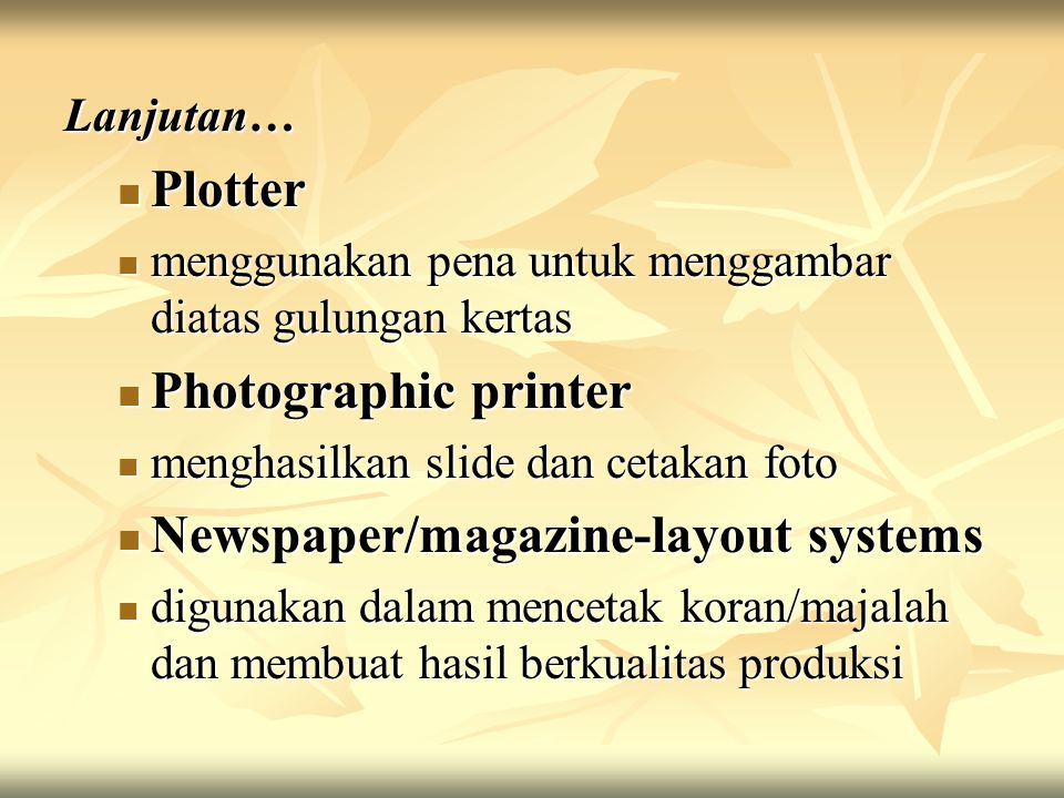 Newspaper/magazine-layout systems