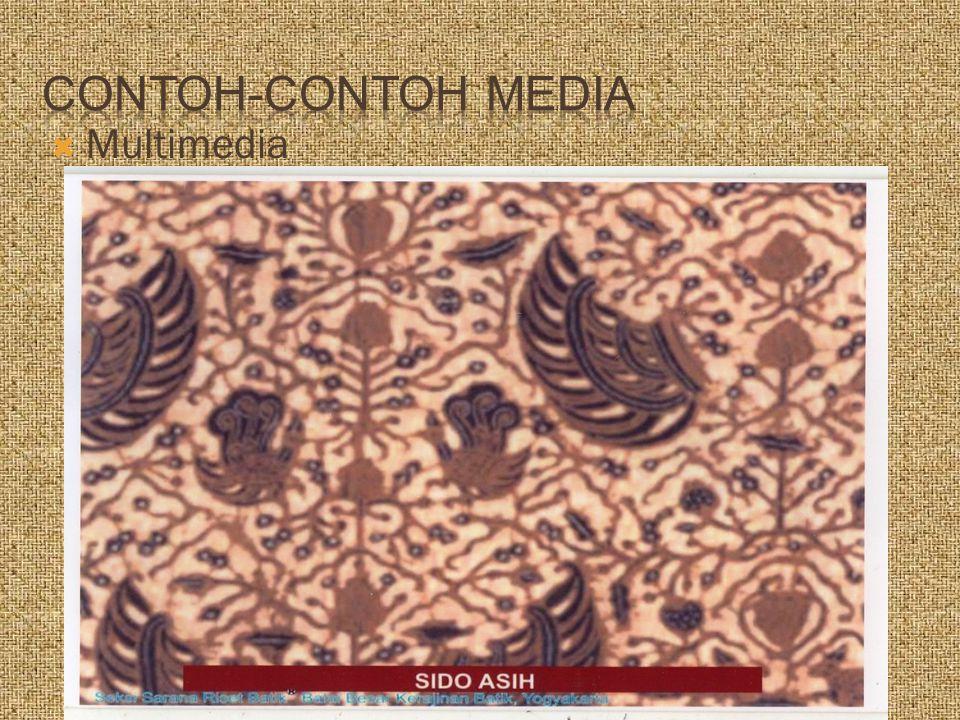 Contoh-Contoh Media Multimedia