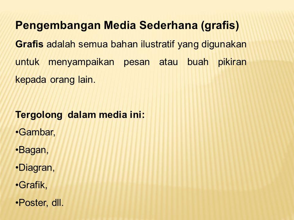 Pengembangan Media Sederhana (grafis)
