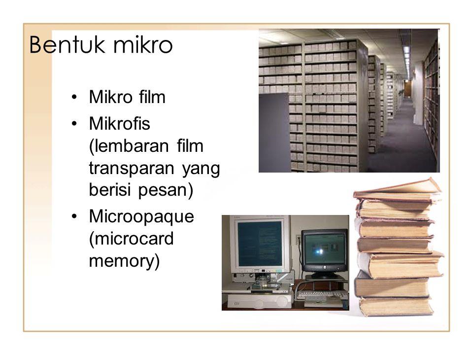 Bentuk mikro Mikro film