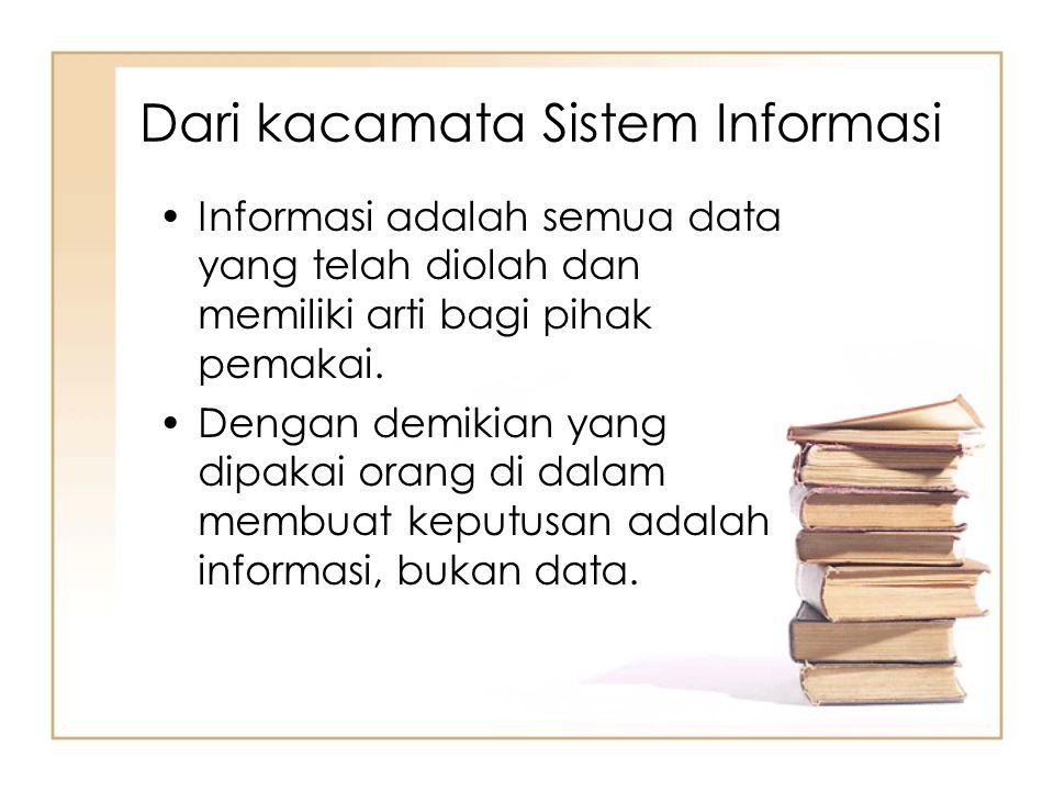 Dari kacamata Sistem Informasi