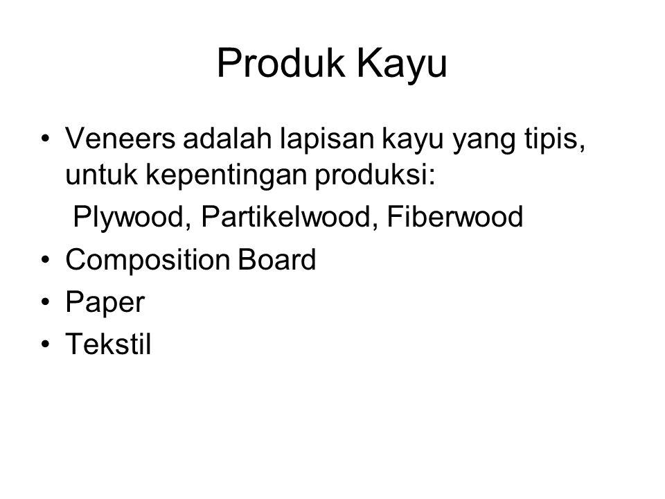 Produk Kayu Veneers adalah lapisan kayu yang tipis, untuk kepentingan produksi: Plywood, Partikelwood, Fiberwood.