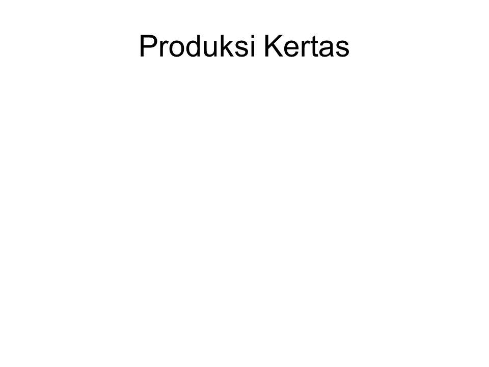 Produksi Kertas