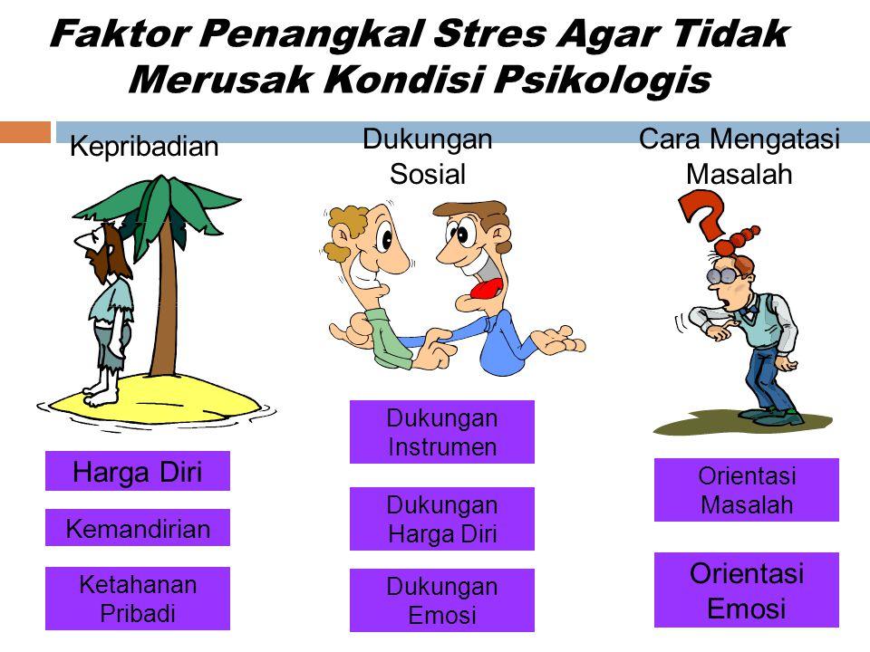 Faktor Penangkal Stres Agar Tidak Merusak Kondisi Psikologis