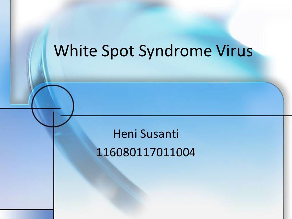 White Spot Syndrome Virus