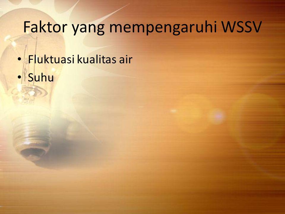 Faktor yang mempengaruhi WSSV