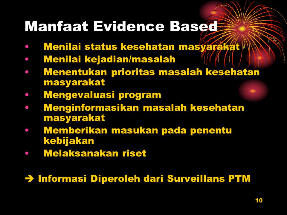 Manfaat Evidence Based