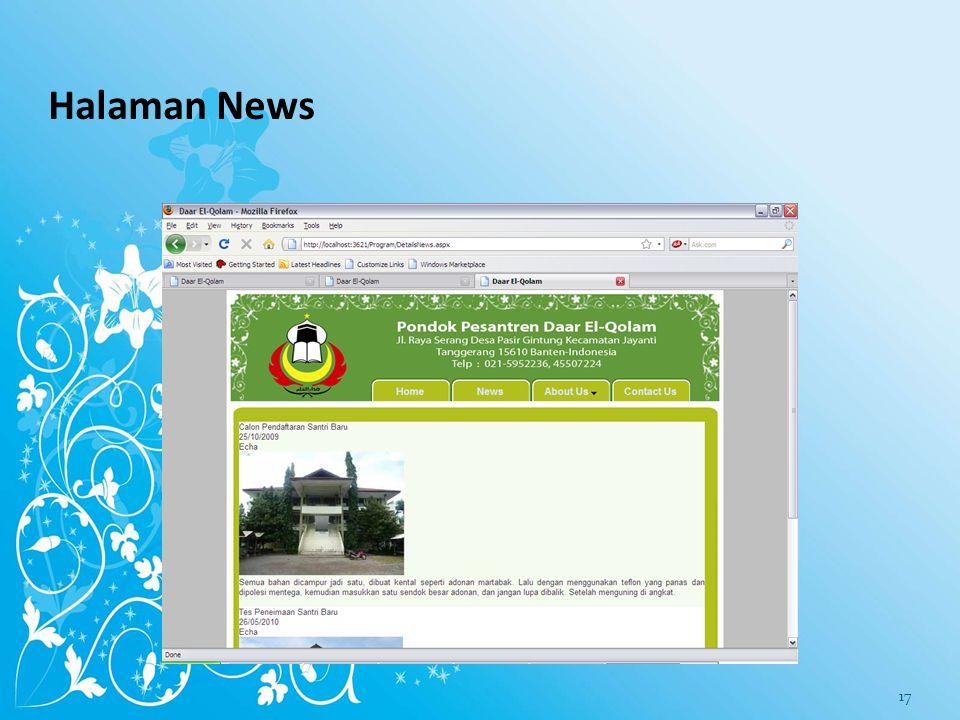 Halaman News