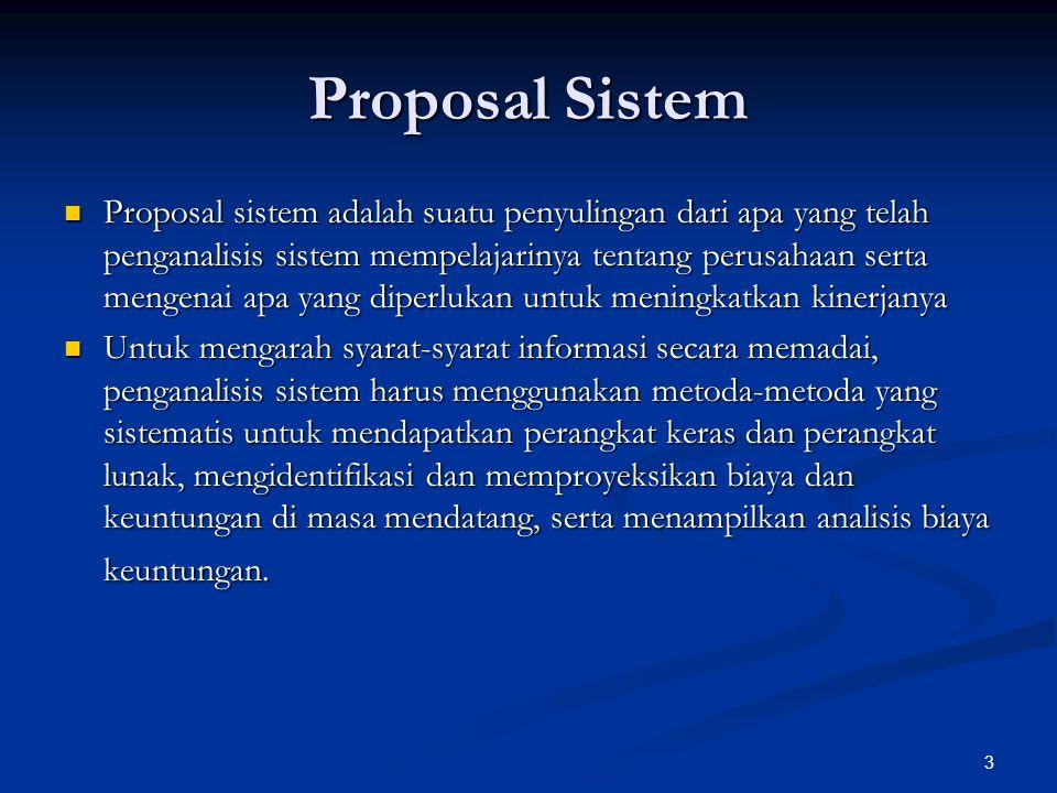 Proposal Sistem