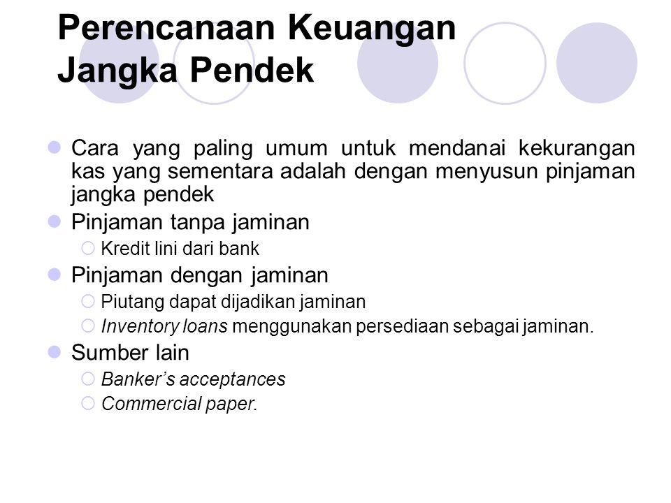 Perencanaan Keuangan Jangka Pendek