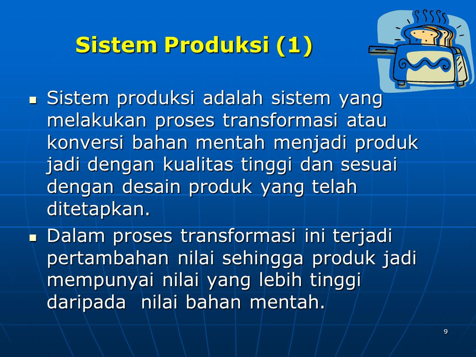 Sistem Produksi (1)