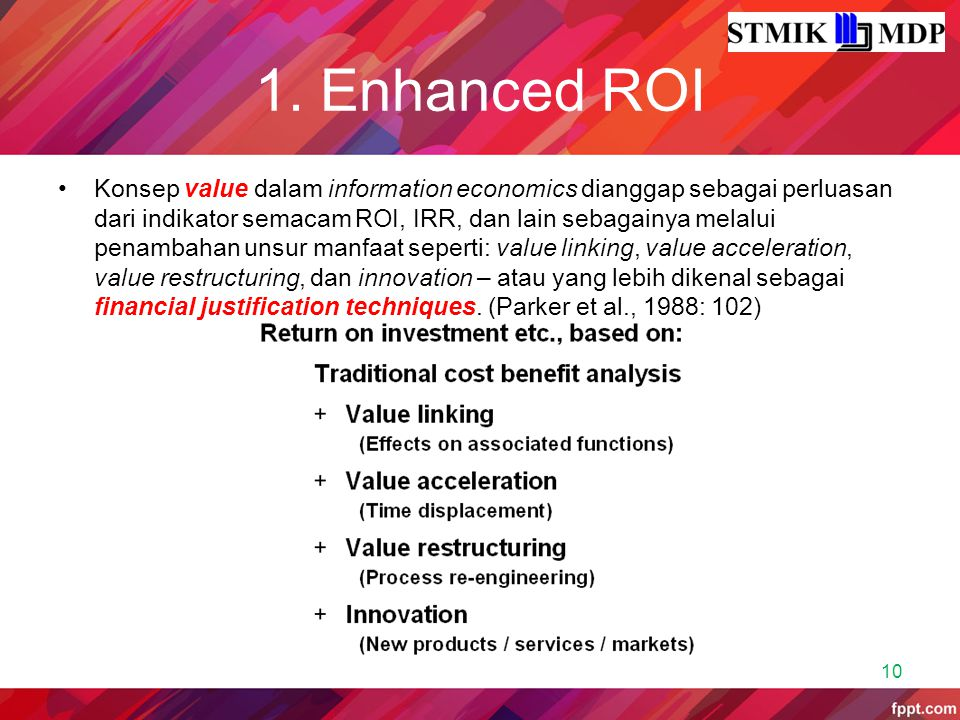 1. Enhanced ROI
