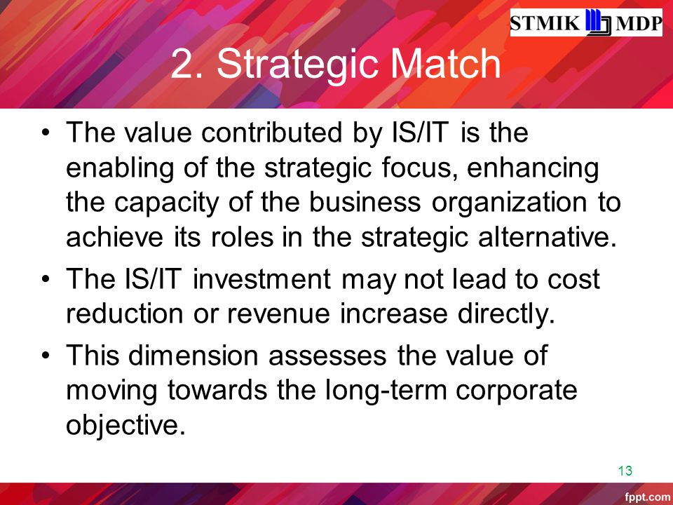 2. Strategic Match