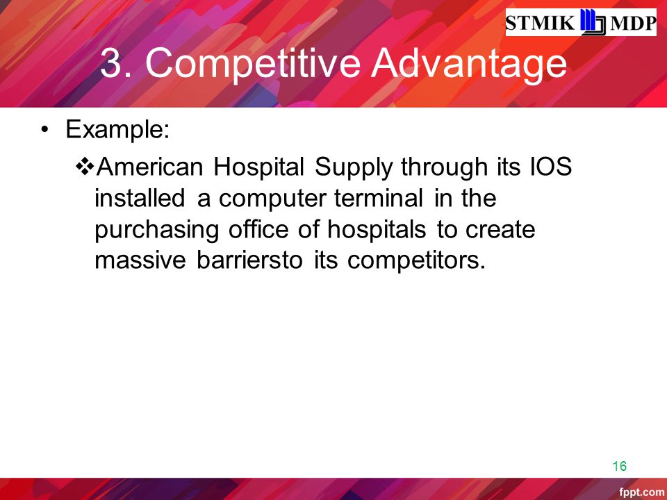 3. Competitive Advantage