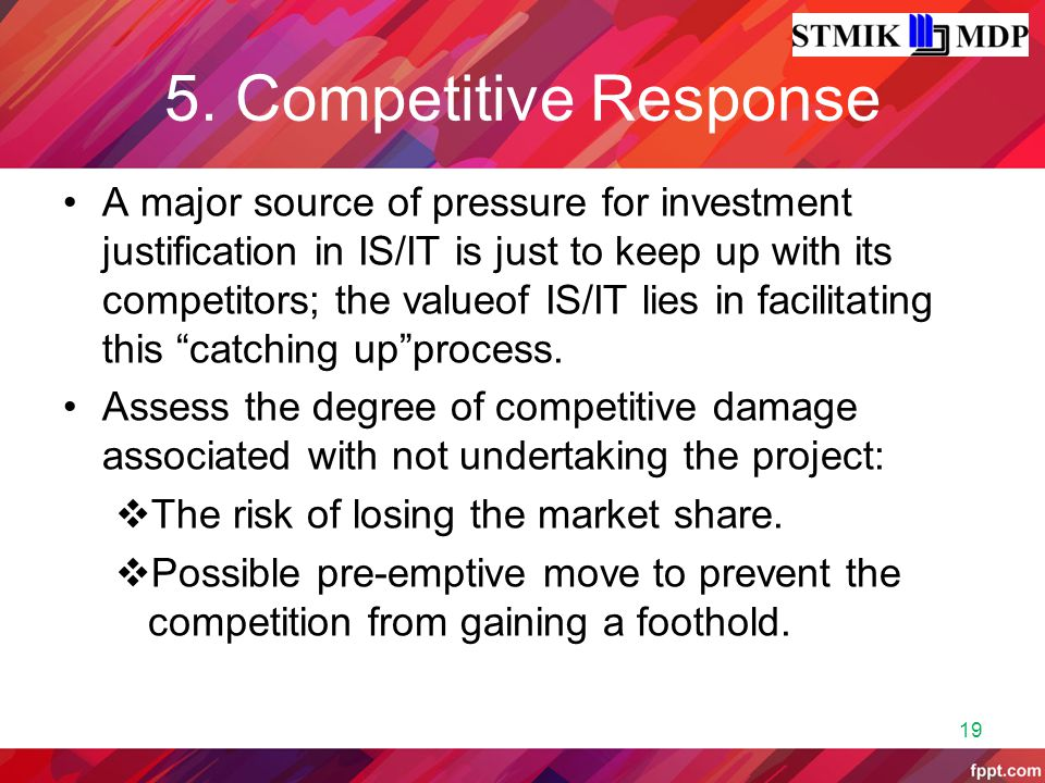 5. Competitive Response