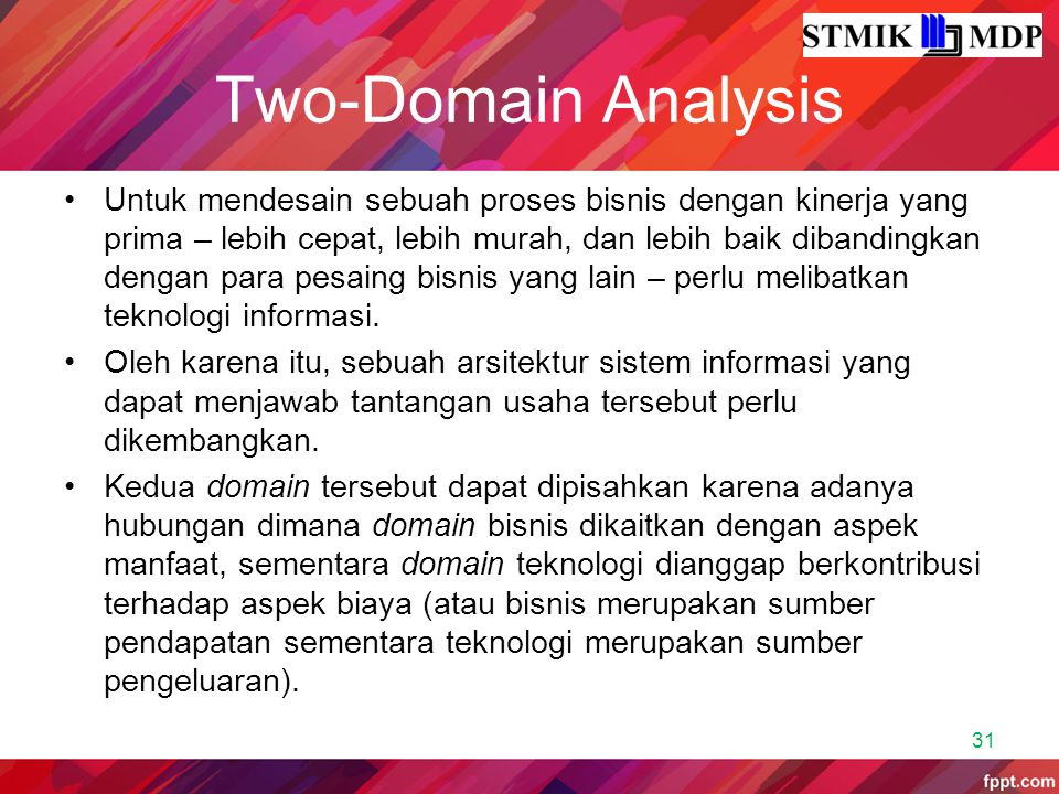 Two-Domain Analysis