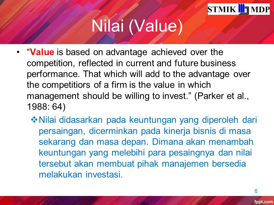 Nilai (Value)