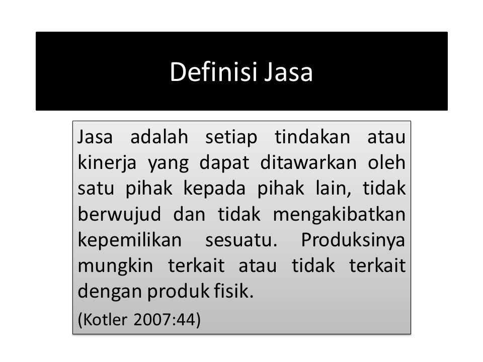 Definisi Jasa