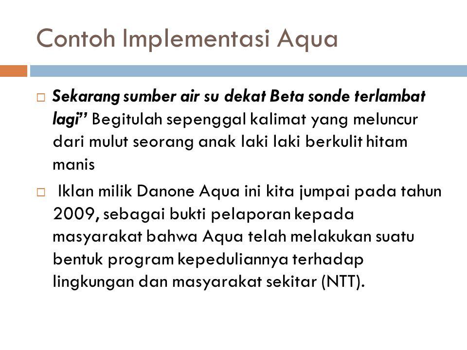 Contoh Implementasi Aqua