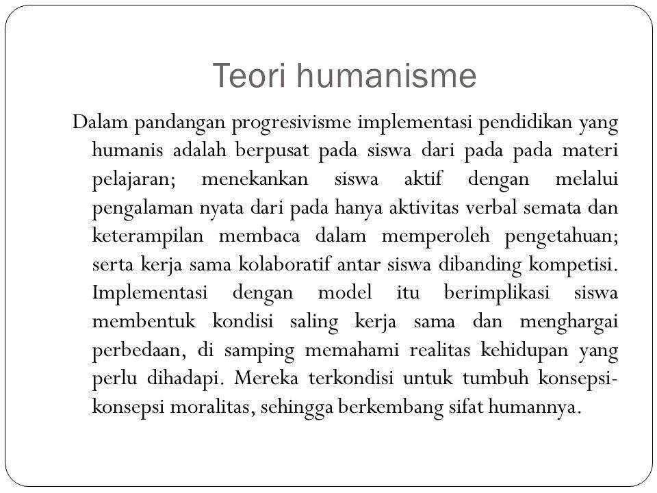 Teori humanisme