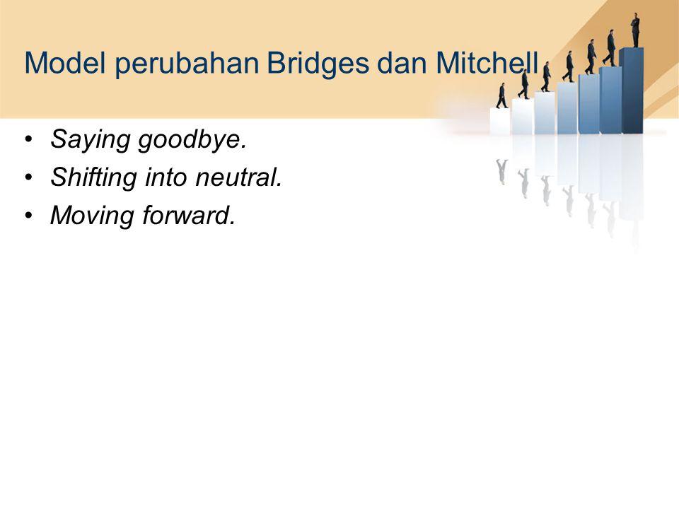 Model perubahan Bridges dan Mitchell