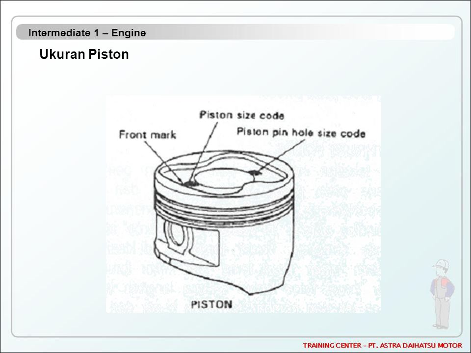 Intermediate 1 – Engine Ukuran Piston