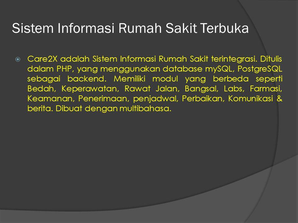 Sistem Informasi Rumah Sakit Terbuka