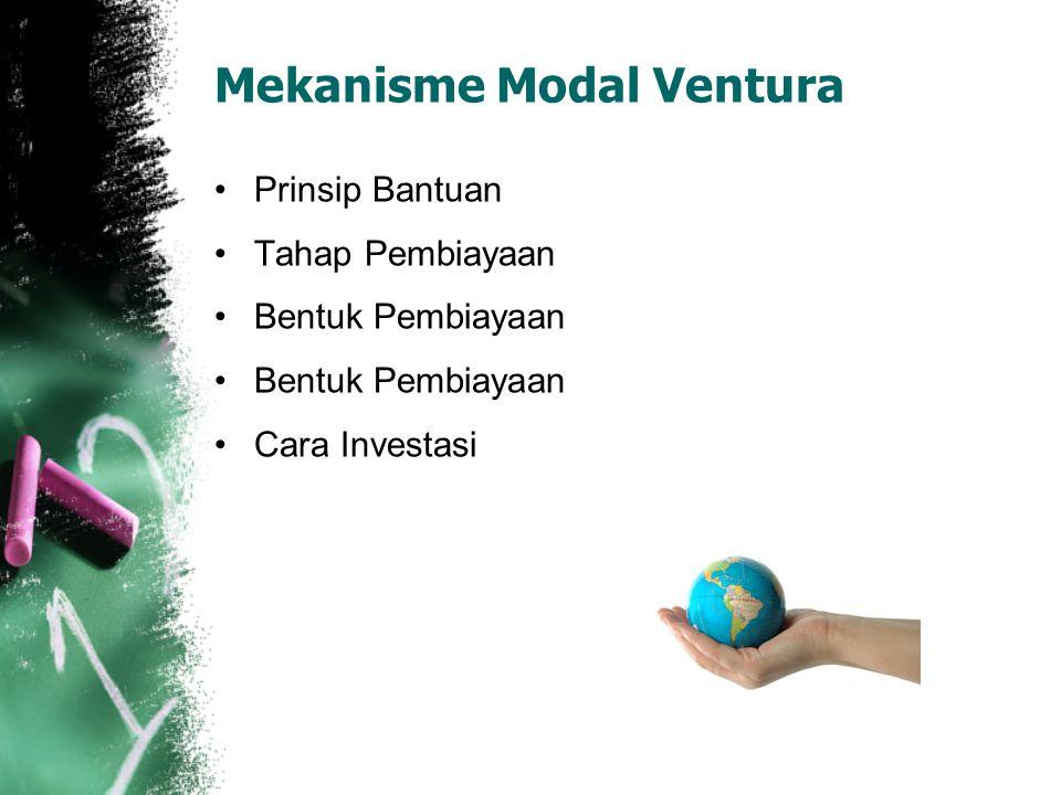 Mekanisme Modal Ventura