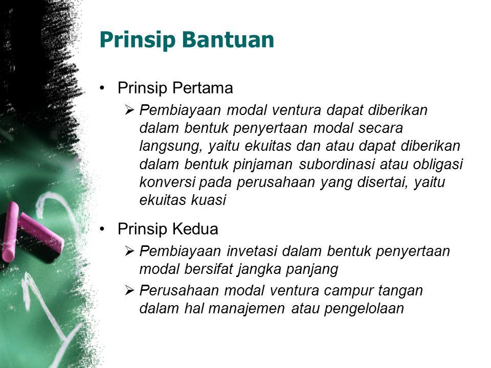 Prinsip Bantuan Prinsip Pertama Prinsip Kedua