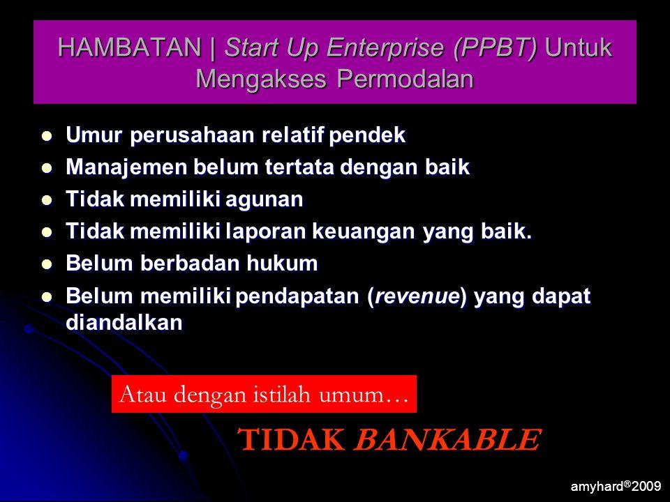 HAMBATAN | Start Up Enterprise (PPBT) Untuk Mengakses Permodalan